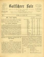 Gottscheer Bote 19130419 Seite: 1
