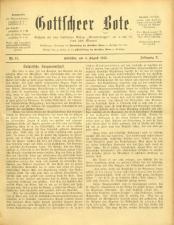 Gottscheer Bote 19130804 Seite: 1