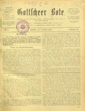 Gottscheer Bote 19140104 Seite: 1