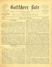 Gottscheer Bote 19140319 Seite: 1