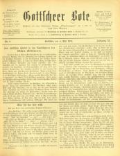 Gottscheer Bote 19140504 Seite: 1