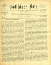 Gottscheer Bote 19150519 Seite: 1