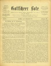 Gottscheer Bote 19151119 Seite: 1