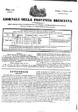 Giornale della provincia Bresciana