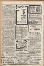 Grazer Volksblatt 19110409 Seite: 14