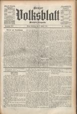 Grazer Volksblatt 19110409 Seite: 1