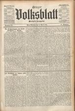 Grazer Volksblatt 19110411 Seite: 1