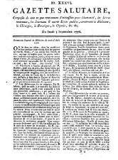 Gazette salutaire (etc.)