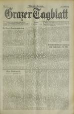 Grazer Tagblatt 19140213 Seite: 1