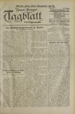 Grazer Tagblatt 19230925 Seite: 1