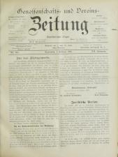 Genossenschafts- und Vereins-Zeitung