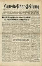 Hausbesitzer-Zeitung
