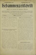 Hebammenzeitschrift