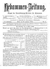 Hebammen-Zeitung 18930228 Seite: 1