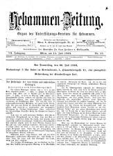 Hebammen-Zeitung 18930715 Seite: 1