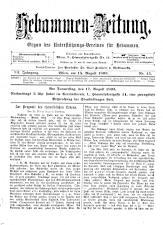 Hebammen-Zeitung 18930815 Seite: 1