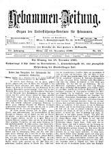 Hebammen-Zeitung 18931215 Seite: 1