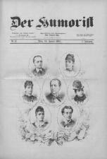 Der Humorist 18850120 Seite: 1