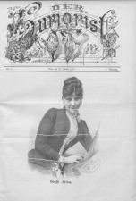 Der Humorist 18870110 Seite: 1