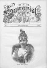 Der Humorist 18900226 Seite: 1