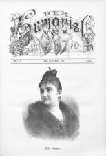 Der Humorist 18900315 Seite: 1