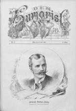 Der Humorist 18900710 Seite: 1