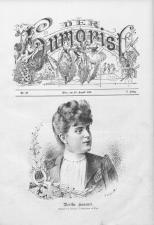 Der Humorist 18900820 Seite: 1