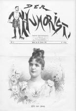 Der Humorist 18910120 Seite: 1