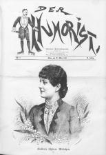 Der Humorist 18910320 Seite: 1