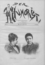 Der Humorist 18911010 Seite: 1