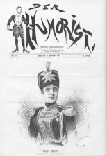 Der Humorist 18911120 Seite: 1