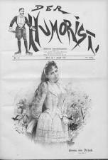 Der Humorist 18920801 Seite: 1