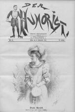 Der Humorist 18921120 Seite: 1