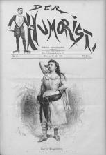 Der Humorist 18930720 Seite: 1
