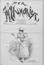 Der Humorist 18930910 Seite: 1