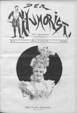 Der Humorist 18980910 Seite: 1