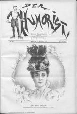 Der Humorist 18981121 Seite: 1