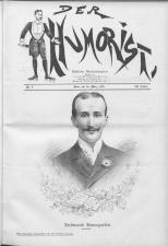 Der Humorist 18990320 Seite: 1