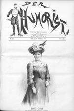 Der Humorist 19010901 Seite: 1