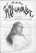 Der Humorist 19011120 Seite: 1