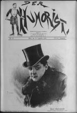 Der Humorist 19081210 Seite: 1