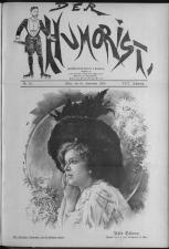 Der Humorist 19090910 Seite: 1