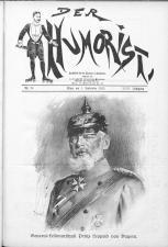 Der Humorist 19150901 Seite: 1