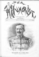 Der Humorist 19161011 Seite: 1