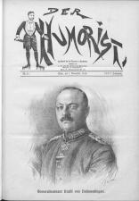 Der Humorist 19161101 Seite: 1