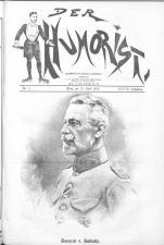 Der Humorist 19180410 Seite: 1
