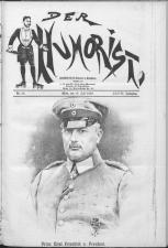 Der Humorist 19180710 Seite: 1