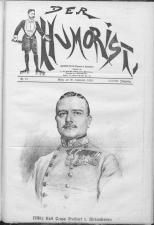 Der Humorist 19180920 Seite: 1