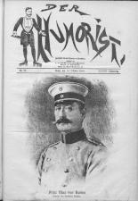Der Humorist 19181010 Seite: 1