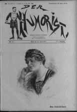 Der Humorist 19220626 Seite: 1